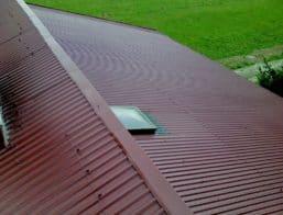 Pomalowany dach